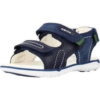 Chaussures Garçon Sandales et Nu-pieds Geox B SANDAL DELHI BOY C Bleu