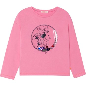 Vêtements Fille T-shirts manches longues Billieblush U15921 ROSE