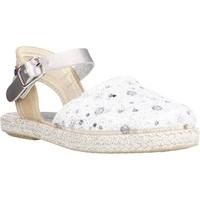 Chaussures Fille Espadrilles Conguitos LVS14543 Argent