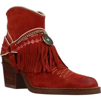 Chaussures Femme Bottines Nemonic 2216N Marron