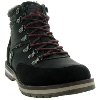 Chaussures Homme Baskets montantes Kimberfeel SIMON Noir