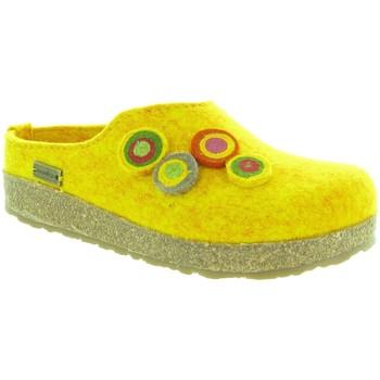 Chaussures Femme Chaussons Haflinger KANON Jaune