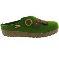Chaussures Femme Chaussons Haflinger KANON Vert