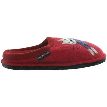 Chaussures Femme Chaussons Haflinger CUCHO TWINS Rouge