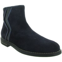 Chaussures Fille Bottines Reqin's MARISSA Bleu