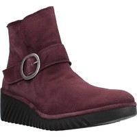 Chaussures Femme Bottines Fly London P501334003 Rouge