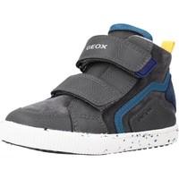 Chaussures Garçon Baskets basses Geox B KILWI BOY Gris