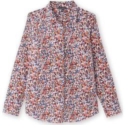 Vêtements Femme Chemises / Chemisiers Kocoon Chemisier pour poitrine standard imprimbleu