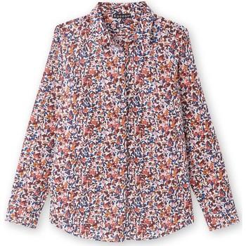 Vêtements Femme Chemises / Chemisiers Kocoon Chemisier pour poitrine généreuse imprimbleu