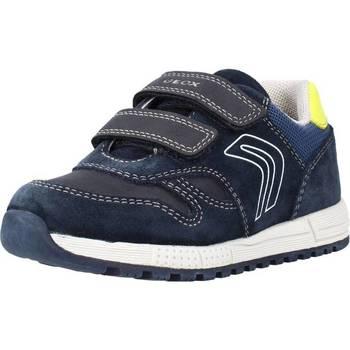 Chaussures Garçon Baskets basses Geox B ALBEN BOY Bleu