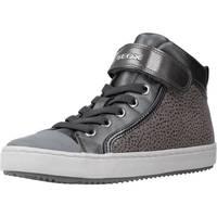 Chaussures Fille Baskets montantes Geox J KALISPERA GIRL Gris