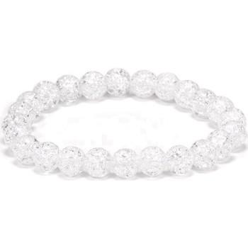 Montres & Bijoux Bracelets Zen Et Ethnique Bracelet élastique cristal de roche irisé Autres