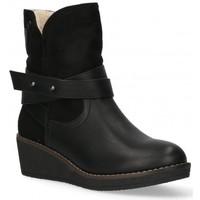 Chaussures Femme Bottines Etika 55086 Noir