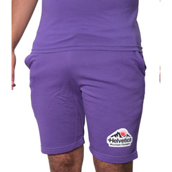 Vêtements Homme Shorts / Bermudas Helvetica Short  purple - WARREN2 PURPLE Violet