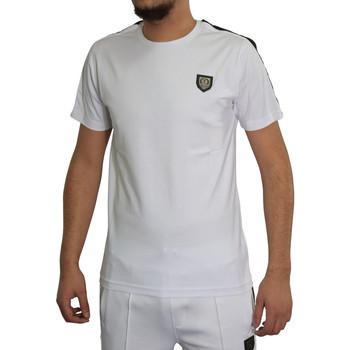 Vêtements Homme T-shirts manches courtes Horspist T-shirt  blanc - JAN-M500 WHITE Blanc