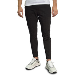 Vêtements Homme Chinos / Carrots Horspist Pantalon  noir - LIVERPOOL BLACK Noir
