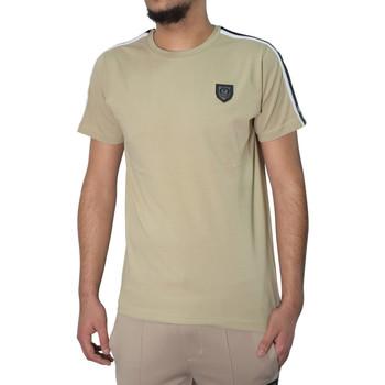 Vêtements Homme T-shirts manches courtes Horspist T-shirt  taupe - JAN-M500 Taupe