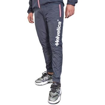 Vêtements Homme Pantalons de survêtement Helvetica Joggings  Bleu Bleu