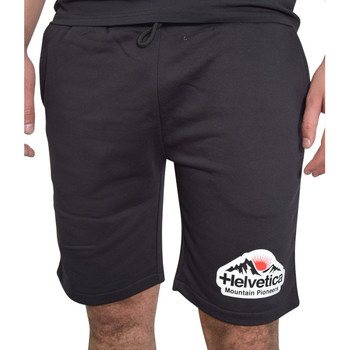 Vêtements Homme Shorts / Bermudas Helvetica Short  noir - WARREN - H300 BLACK Noir