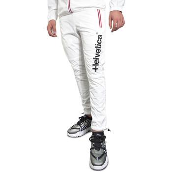 Vêtements Homme Pantalons de survêtement Helvetica Jogging  blanc - ALBA-H100 Blanc