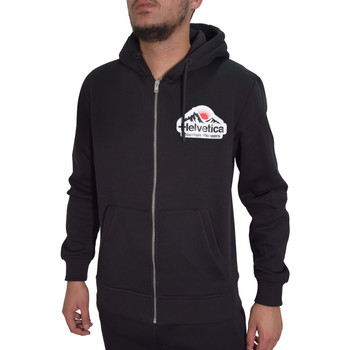Vêtements Homme Sweats Helvetica Sweat  noir - BREST - H300 BLACK Noir