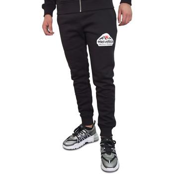 Vêtements Homme Pantalons de survêtement Helvetica Jogging  noir - BRAM - H300 BLACK Noir
