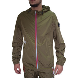 Vêtements Homme Vestes de survêtement Helvetica Veste  kaki - BIARRITZ-H100 KHAKI Kaki