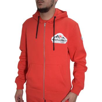 Vêtements Homme Sweats Helvetica Veste  rouge - BREST - H300 RED Rouge