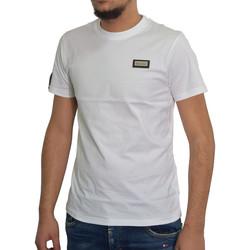 Vêtements Homme T-shirts manches courtes Horspist Tshirt  blanc - MANATHAN WHITE Blanc