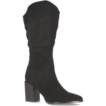 Chaussures Femme Bottes ville Buonarotti 2A-1400 Negro