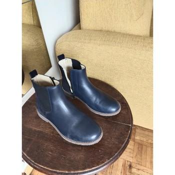 Chaussures Fille Bottines Jacadi Bottes Jacadi Bleu