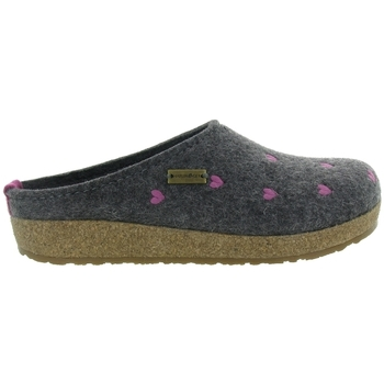 Chaussures Femme Chaussons Haflinger CUORICINI WOMEN Gris