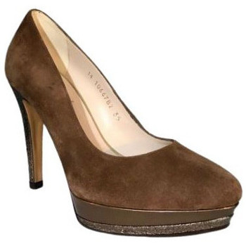 Chaussures Femme Escarpins Lodi Escarpin wendol Marron