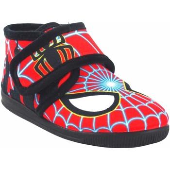 Chaussures Garçon Chaussons bébés Vulca Bicha Go home enfant  1070 rouge Rouge