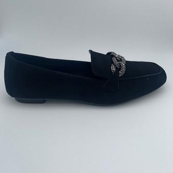 Chaussures Femme Mocassins Reqin's MOCASSIN PEAU NOIR Noir