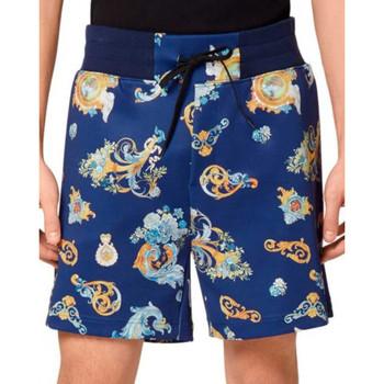 Vêtements Homme Shorts / Bermudas Joggings & Survêtements Shorts  Bleu Bleu