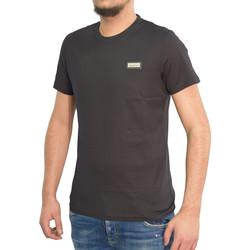 Vêtements Homme T-shirts manches courtes Horspist Tshirt  noir - MANATHAN BLACK Noir
