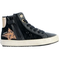 Chaussures Femme Baskets montantes Geox Basket Montante /Fille Kalispera J044GA Noir