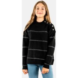 Vêtements Fille Pulls Le Temps des Cerises pauliegi 0001 black noir