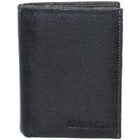 Sacs Homme Portefeuilles Arthur & Aston Portefeuille Arthur et Aston en cuir ref_ast37387-noir noir