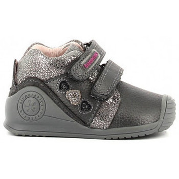 Chaussures Fille Chaussons Biomecanics 211108 Gris