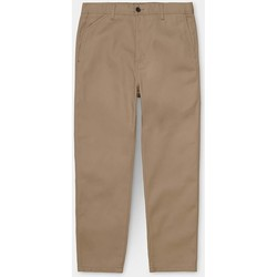 Vêtements Homme Chinos / Carrots Carhartt Carhartt WIP Menson Pant - Leather (rinsed) 534