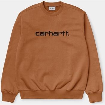 Vêtements Homme Sweats Carhartt Carhartt WIP Carhartt Sweat - Rum / Black 28