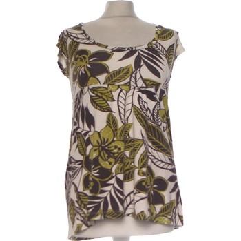 Vêtements Femme Tops / Blouses Jacqueline Riu Top Manches Courtes  36 - T1 - S Vert