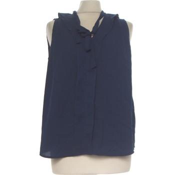 Vêtements Femme Débardeurs / T-shirts sans manche Forever 21 Débardeur  38 - T2 - M Bleu