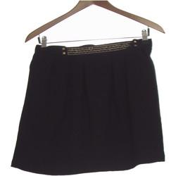 Vêtements Femme Jupes Color Block Jupe Courte  38 - T2 - M Noir