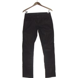 Vêtements Femme Pantalons 5 poches School Rag Pantalon Droit Femme  36 - T1 - S Noir