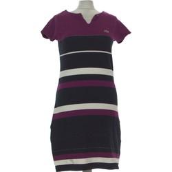 Vêtements Femme Robes courtes Lacoste Robe Courte  40 - T3 - L Violet