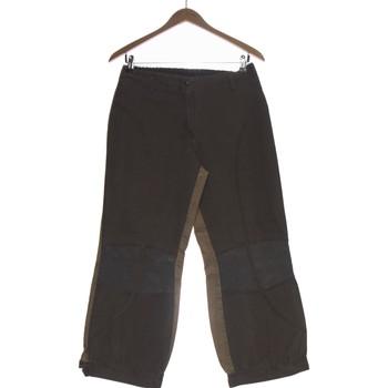 Vêtements Femme Pantacourts Deca Pantalon Droit Femme  36 - T1 - S Marron