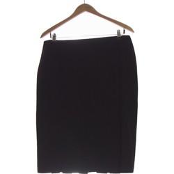 Vêtements Femme Jupes Camaieu Jupe Mi Longue  42 - T4 - L/xl Noir